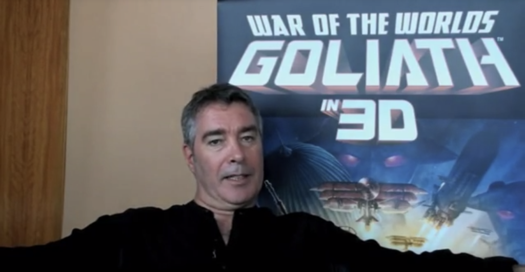 Did you know…that Rob was part of the War of the Worlds: Goliath?